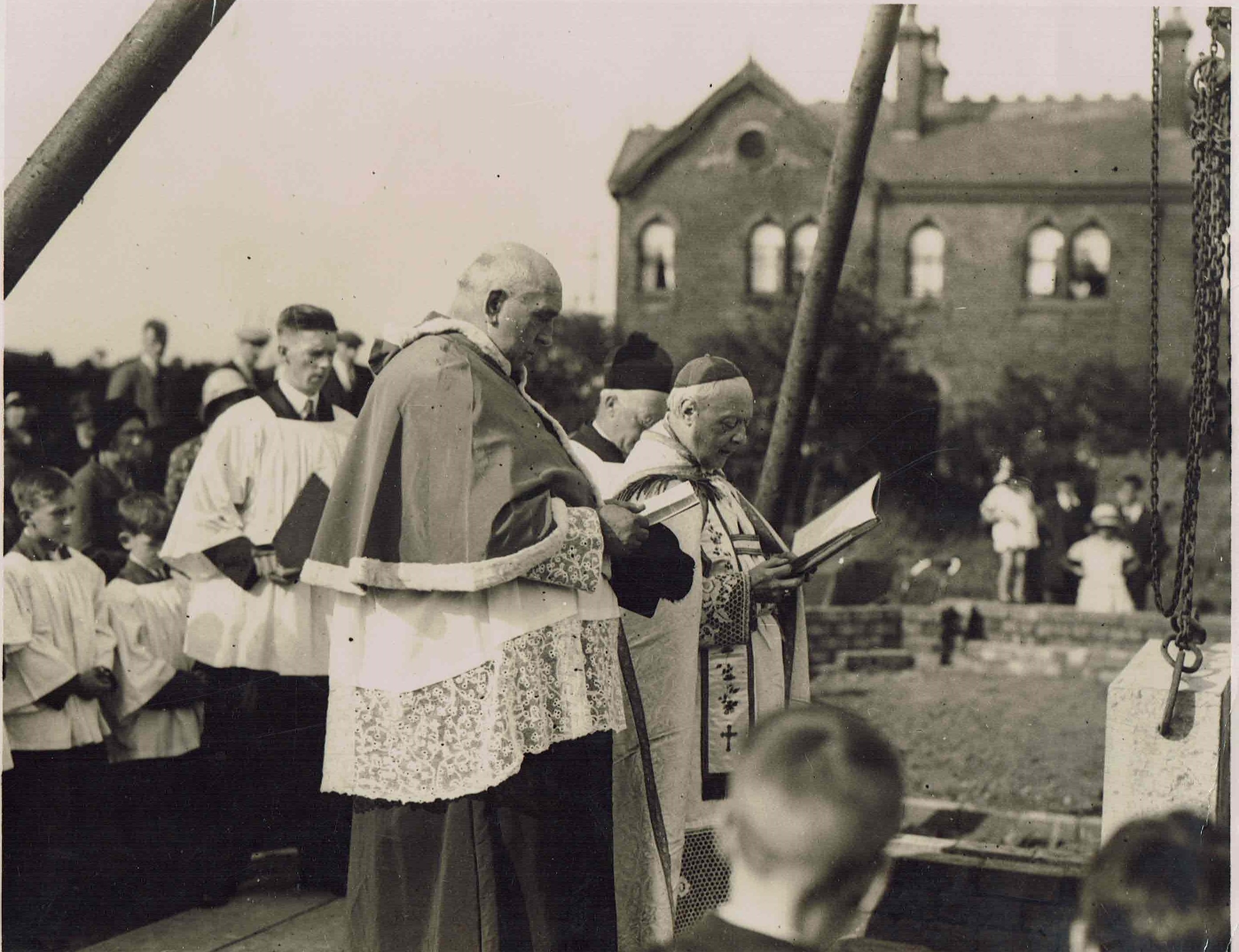 Blessing of the foundation stone