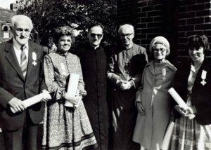 1983 Benerementi Medal recipients