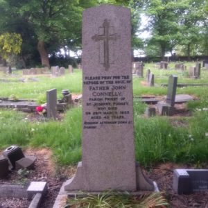 Father Connelly's Gravestone